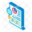 Statistician File Research Icon