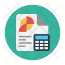 Report Analytic Calculation Icon