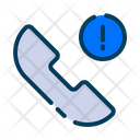 Report Call Report Calling Warning Icon
