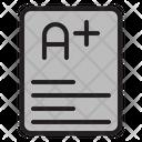Report Card Icon
