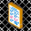 Test Result Isometric Icon
