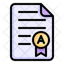 Report Card Education Result Icon