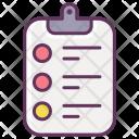 Report Checklist Medicine Icon