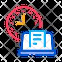 Report Deadline Freelance Icon