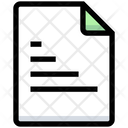 Report File Report Document Icon
