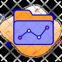 Report Folder Statistics Icon
