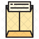 Report in envelope Icon