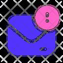 Report Message Envelope Icon