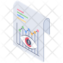 Report Monitoring Review Report Statical Report Icon