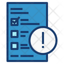 Report Problem Report Paper Icon
