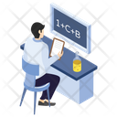 Report Writing Lab Experiment Laboratory Test Icon
