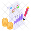 Business Report Data Report Report Writing Icon