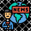 Reporter News Journalist Icon