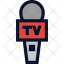 Reporter Microphone Icon