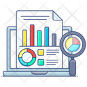Digital Reporting Reporting Online Electronic Reporting Icon