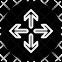 Repositon Move Rotate Icon