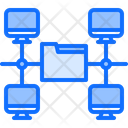 Repository Data Code Icon