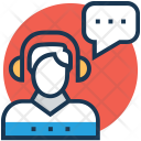 Representative Chat Service Icon