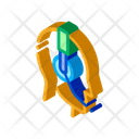 Representative Help Telemarketing Icon