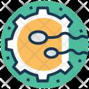 Reproduction Process Fertilization Icon
