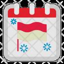 Flag Day Calendar Icon