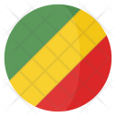 Republic Congo Flag Icon