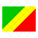 Republic Of The Congo Flag Flags Icon