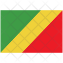 Flag Country Congo Republic Of The Icon