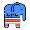 Republicans Party Symbol United States America Icon