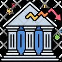 Reputational Risk Banking Danger Icon