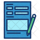 Request Form Form Job Icon