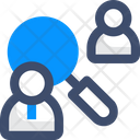 Requirement Search User Search Employee Icon