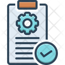 Requirements Demand Obligation Icon