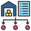 Requisition Distribution Warehouse Icon