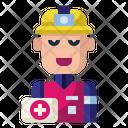 Rescue Safety Ambulance Icon