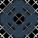Life Belt Marine Icon