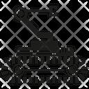 Rescue Robot Robot Machine Icon
