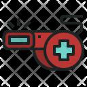 Rescue Whistle Emergency Icon