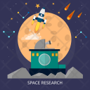 Research Galaxy Education Icon