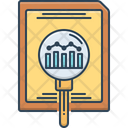 Research And Analytics Research Analytics Icon