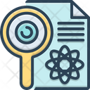 Research Investigation Checkout Icon