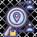 Consumer Market Positioning Icon
