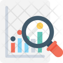 Research Analysis Report Icon
