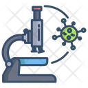 Research Research Virus Microscope Icon