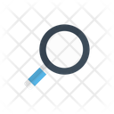 Glass Magnifier Lab Icon