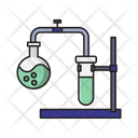 Flask Beaker Test Icon