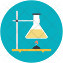 Research Laboratory Flask Icon