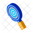 Gear Research Science Icon