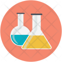 Research Flask Science Icon
