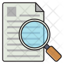 Research Analysis File Icon